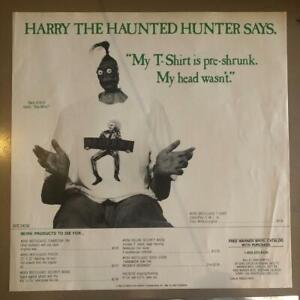 Vintage BEETLEJUICE Movie Merch Catalog Poster tim burton 80s goth shrunken head