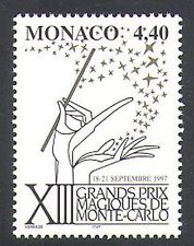 Monaco 1997 Magic Stars/Festival/Wand/Animation  1v (n38284)