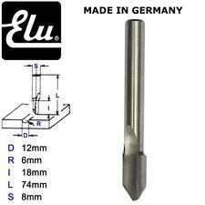 ELU E45115 HSS RADIUS ROUTER BIT CUTTERS - 8MM SHANK - D.12MM  R.6MM