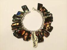 The Vampire Diaries Damon Stefan Charm Bracelet Handmade Plastic Charms 7 inch