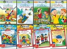 Caillou DVD Set PBS Kids Lot Series TV Show Children Animated Boy Girl Cartoon R