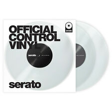 Serato 12‑Inch Official Control Vinyl (Pair) - Clear +Picks