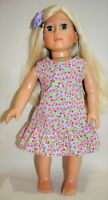 """American Girl Doll Our Generation Dolls Gotz 18"""" Doll Clothes Cotton Sun Dress"""