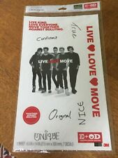 1D One Direction Limited Edition Decals by Scotch, unopened, anti-bullying