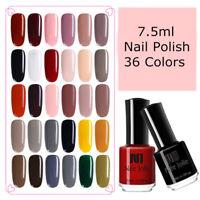 NEE JOLIE 7.5ml Pure Tips Nail Polish Black White   Varnish Decor