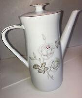 "Johann Haviland Teapot Chocolate Coffee Pot Bavaria Germany Tea 10"" Tall Flowers"