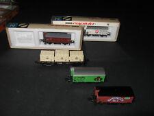 Spur N Güterzug 3-teilig Ep. IV, Arnold 4961 + 4282 + 4266, OVP, TOP, + 2 Extras