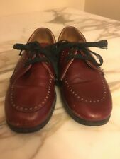 VINTAGE 1970's Buster Brown Lace up SHOE SIZE 11.5 Hand Made