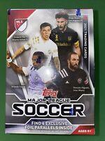 2021 Topps Major League Soccer MLS - Factory Sealed Blaster Box. 4 FOIL CARDS