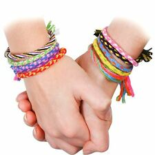 Make Your Own Friendship Bracelet Set Gift For Kids Fun Bracelet Designs Kit