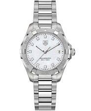 TAG Heuer Women's Swiss Aquaracer Diamond Stainless Steel Watch  WAY1313.BA0915
