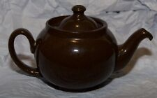 ALB - Alcock Lindley Bloore - Small Brown Teapot - 10cm high