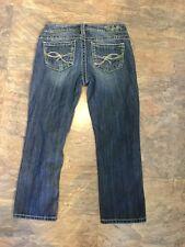 SILVER Jeans AIKO CAPRI womens 25 x 23 CAPRI LENGTH