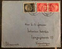 1939 Pirna Germany Censored Cover To Copenhagen Denmark