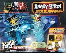 Hasbro Angry Birds Star Wars Jenga Tie Fighter Game