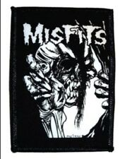 Misfits Pushead Embroidered Patch M015P Black Flag Danzig Ramones