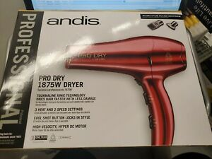 ANDIS 30245 COMPANY 1875W Pro Dry Hair Dryer