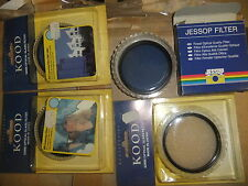 Camera optical glass filters KOOD various types all 62mm cost £65