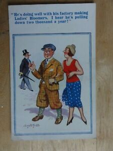 donald mc gill  postcard factory making ladies bloomers