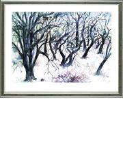 Günter Grass (1927-2015), Baumlandschaft  Winter, 2003 - signiert, gerahmt