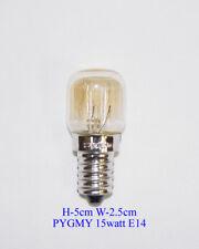 3 x 15Watt Bulb E14 Salt Lamp Crystal Lamp Screw Cap SES PYGMY Clear Light UK