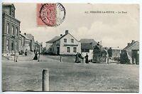 CARTE POSTALE  FERRIERE LA PETITE LA PLACE 1906