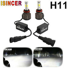 4-Sides H11 H8 H9 LED Headlight 2000W 330000LM Bulbs High Power 6000K EREE FREE