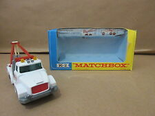 Matchbox K-2 King Size White Esso Heavy Wreck Truck Scammell Lesney K2