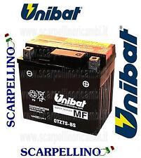 BATTERIA UNIBAT CTZ7S-BS PRECARICATA PER HONDA CBR 125 cc -BATTERY- TTZ7S