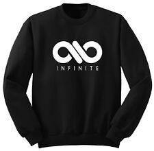 Kpop Sweater - Infinite Black Sweatshirts Size S - XL