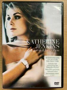 Katherine Jenkins Live In Llangollen Region 4 DVD 2006 As New Free Postage