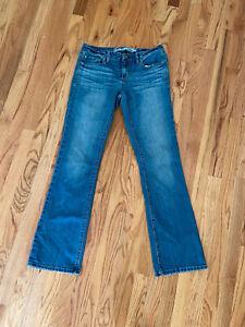 American Eagle Original Boot Stretch Jeans True Boot cut Denim Womens Size 8