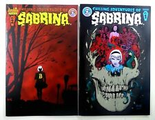 Archie CHILLING ADVENTURE OF SABRINA #1 2nd Print + #2 1st Print LOT Ships FREE!