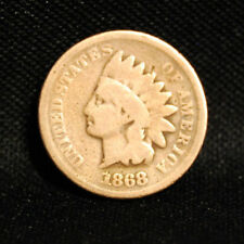 1868 INDIAN HEAD PENNY WITH GOOD  DETAILS