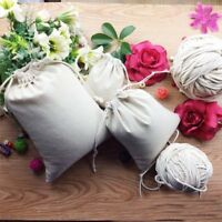 Portable Cotton Plain Storage Bag Toy Shoes Laundry Bags Home Travel Organizer