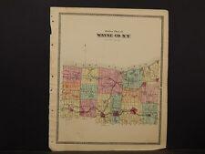 New York, Wayne County Map, 1874, Y4#60