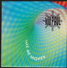"7"" KID PAUL take me higher/Energy 52 90`s Warner Bros (NEAR MINT)"