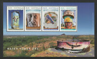 Australia 2020 : Water Tower Art - Minisheet - Mint Never Hinged
