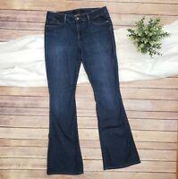 Joe's Jeans Skinny Bootcut the Visionnaire Dark Denim Womens Size 29 Stretch