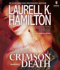 Crimson Death (Anita BlakeVampire) by Laurell K. Hamilton NEW Audio CD FREE SHIP