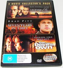 Legends Of The Fall / Seven Years In Tibet / The Devils Own--(Dvd 3 Disc Set)