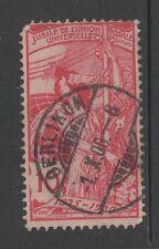 """SWITZERLAND 1900 UPU 10c RED Used """"OERLIKON"""" Postmark"""