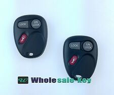 2 Replacement Keyless Entry Remote Key Fob For 2001-2002 Suburban 1500 2500