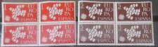 SPAIN ESPAÑA 1961 EDIFIL Nº 1371/72 ** MNH  EUROPA CEPT. BLOQUE 4