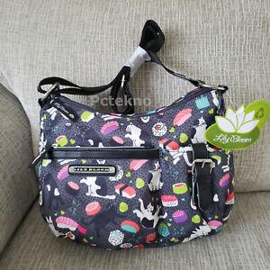 Lily Bloom Meow We Roll Kathryn ECO Crossbody Hobo Bag $60 NWT