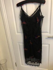 Revolve House Of Harlow Black Bird Dress