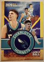 Lamelo Ball 2020 Charlotte Hornets #2 Rookie Card RC Draft Pick