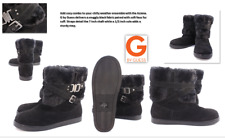 Women's G By Guess Black Aziena  Boots: Size 10 M