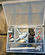 Tyre valve service and repair kit Pocket pressure gauge, Valve caps, Valve cores