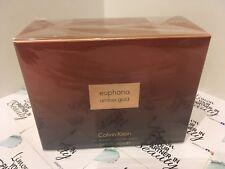 Calvin Klein Amber Gold 100ml  Eau De Parfum - Genuine - Sealed Box - New